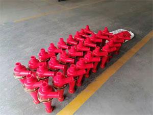 一批4寸除泥器旋流器發往四川德陽
