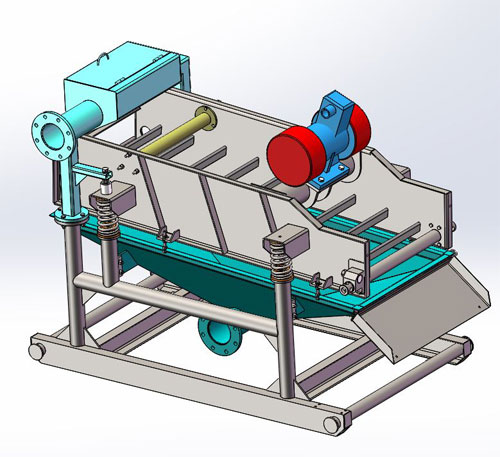 FLQ50型礦用振動篩